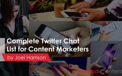 A Complete List of Twitter Chats for Content Marketers – Updated Regularly