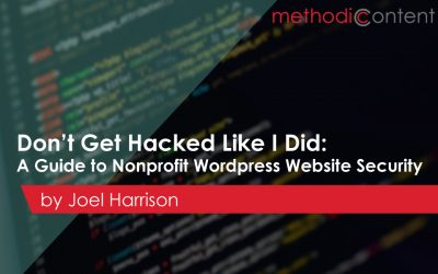 A Guide to Nonprofit Website Security [with WordPress]