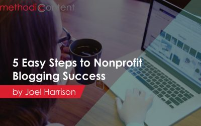 5 Easy Steps to Nonprofit Blogging Success