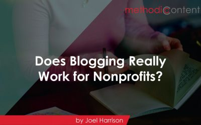 Does Blogging Really Work for Nonprofits?