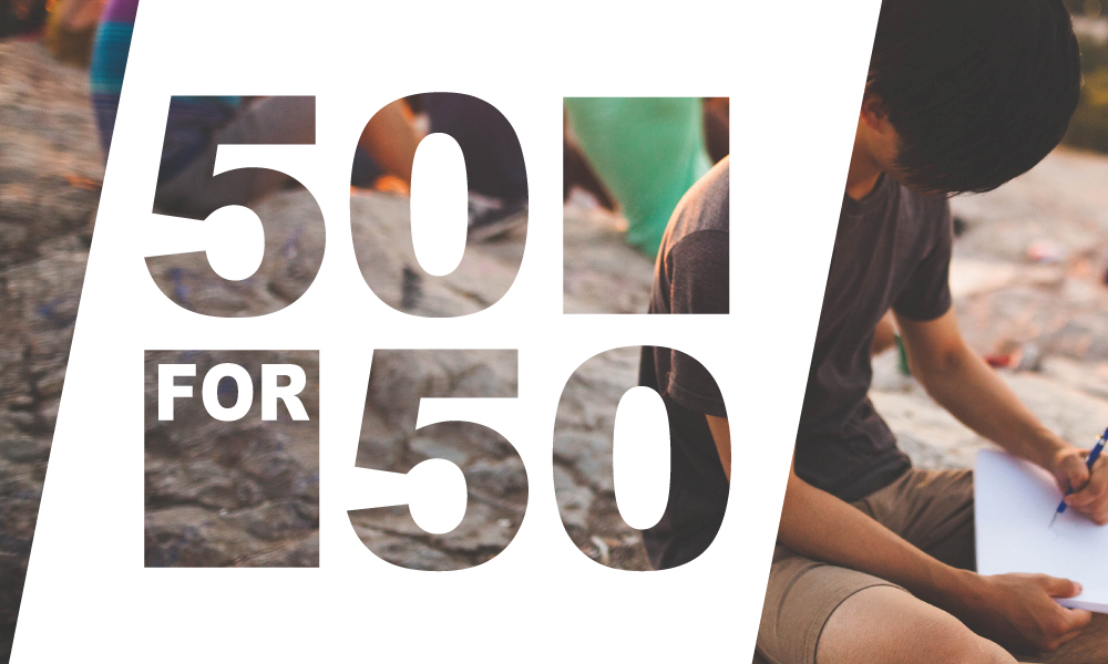 50 for 50 – New Content Project to Help Nonprofits