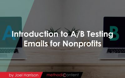 Intro to A/B Testing Emails for Nonprofits