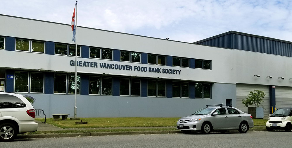 Greater Vancouver Food Bank Office