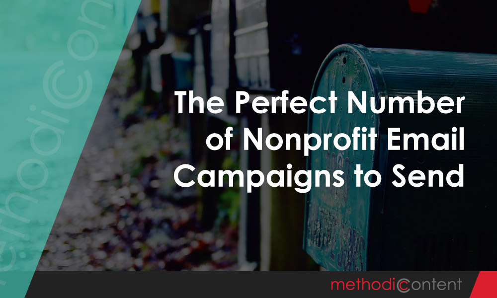 The Perfect Number of Nonprofit Email Campaigns to Send